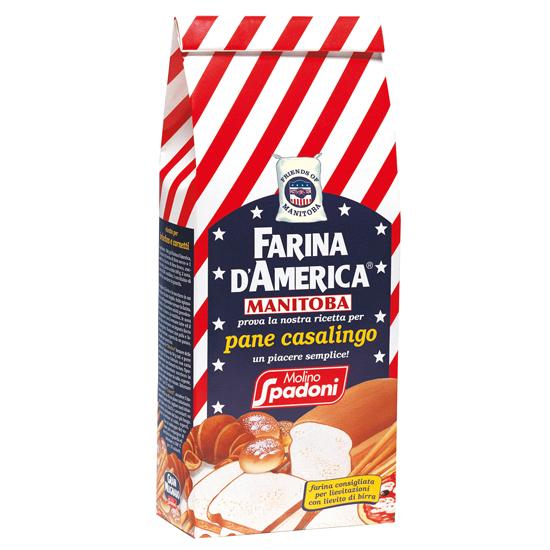 Farina D`America Grano Tenero (Tipo 0) 1 kg SPADONI