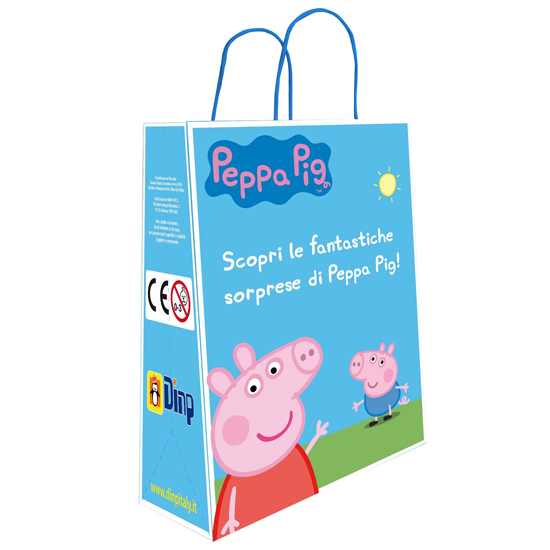 Peppa Pig Busta Regalo / Überraschungstüte DINP