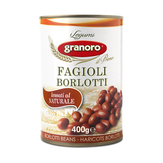 Fagioli Borlotti / Braune Bohnen 400 g GRANORO