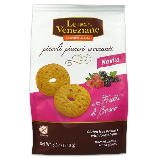 Biscotti con Frutti di Bosco 250 g Glutenfrei LE VENEZIANE