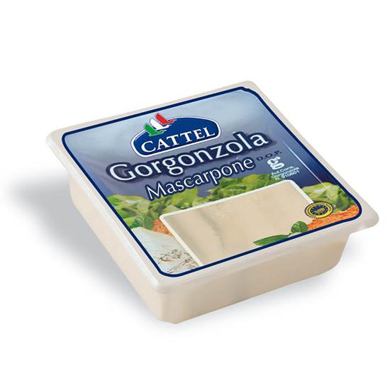 Gorgonzola e Mascarpone 200 g CATTEL
