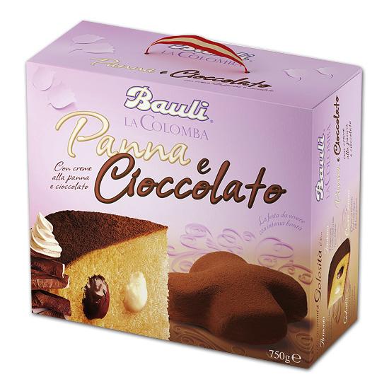 Colomba Panna e Cioccolato 750 g BAULI