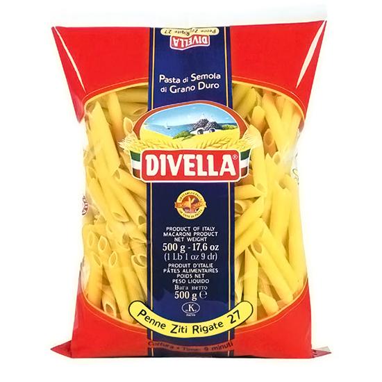 Divella 27 Penne Ziti Rigate / Nudeln 500 g
