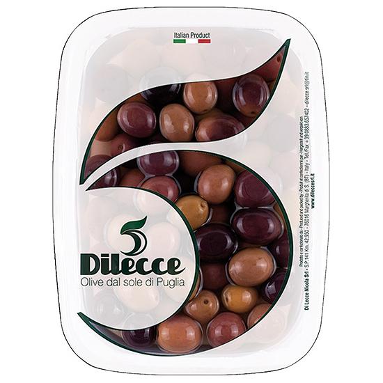 Olive Nere Peranzane 600 g DI LECCE / Schwarze Oliven