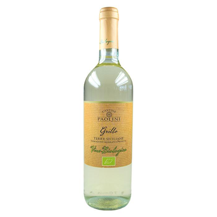 Grillo Terre Siciliane BIO 0,75 L CANTINA PAOLINI