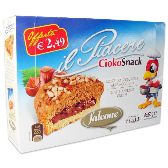 Piacere Cioko Snack 200 g FALCONE