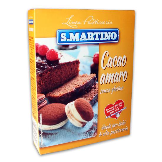 Cacao Amaro Senza Glutine 250 g SAN MARTINO