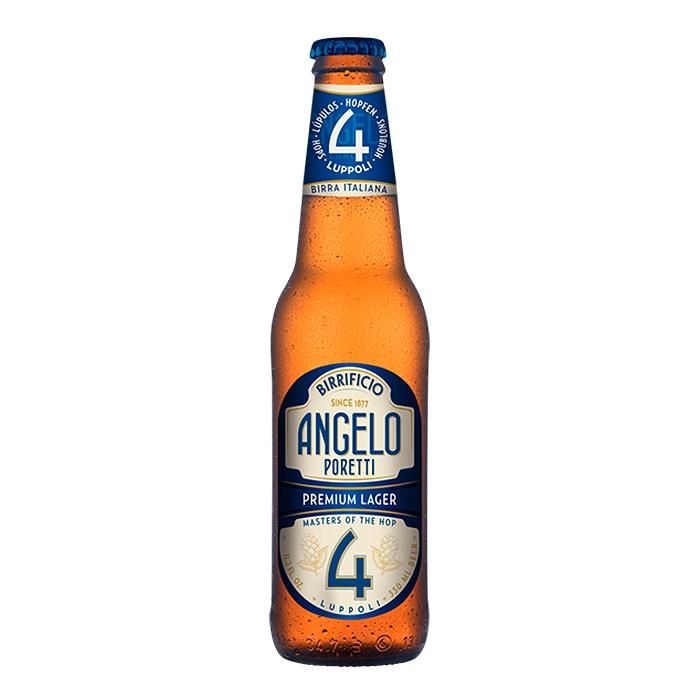 Birra Angelo Poretti Premium Lager 4 Luppoli 330 ml