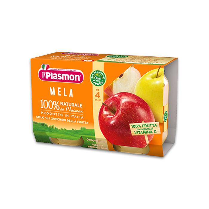 Plasmon Omo Mela / Babybrei mit Apfel 2 x 104 g