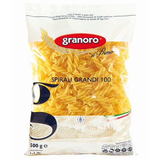 Granoro 100 Spirali Grandi 500 g