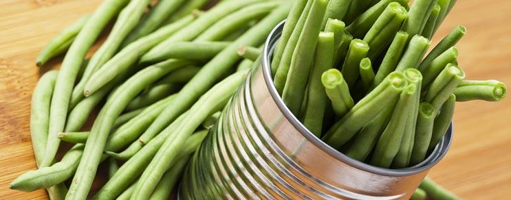 Gemüse- und Obstkonserven