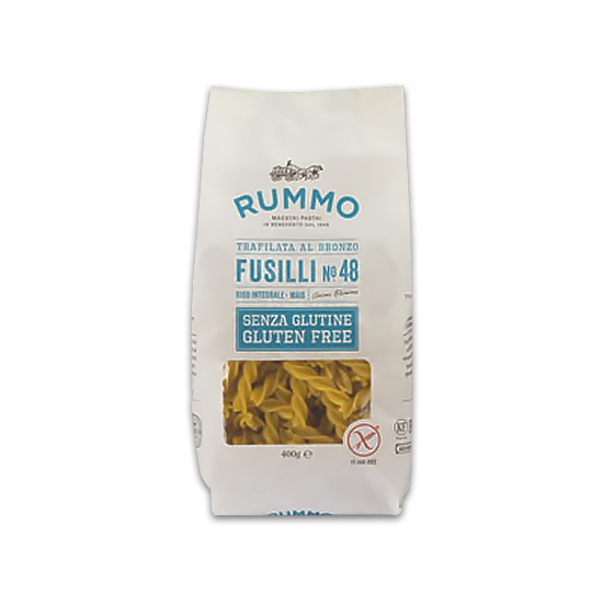 Fusilli 48 Senza Glutine / Glutenfreie Nudeln 400 g RUMMO