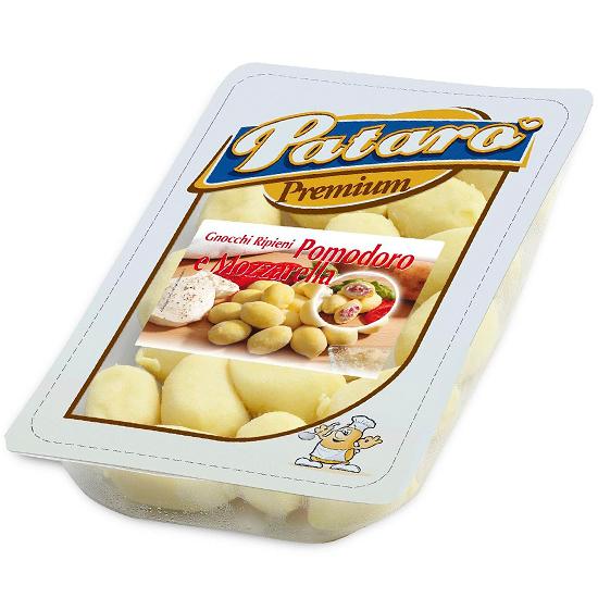 Gnocchi Pomodoro e Mozzarella / Gnocchi mit Tomaten und Mozzarella 400 g PATARO'