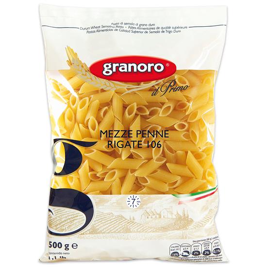 Granoro 106 Mezze Penne Rigate 500 g