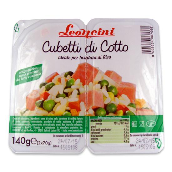 Cubetti di Cotto 140 g LEONCINI