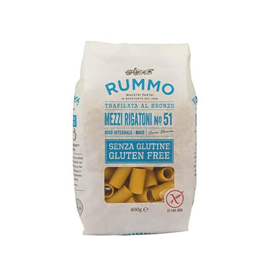 Mezzi Rigatoni 51 Senza Glutine / Glutenfreie Nudeln 400 g RUMMO