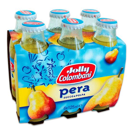 Succhi Di Frutta Pera  6 x 125 ml JOLLY