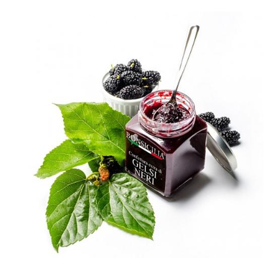 Confettura Extra di Gelsi 250g BONSICILIA / Marmelade aus Maulbeere 250 g