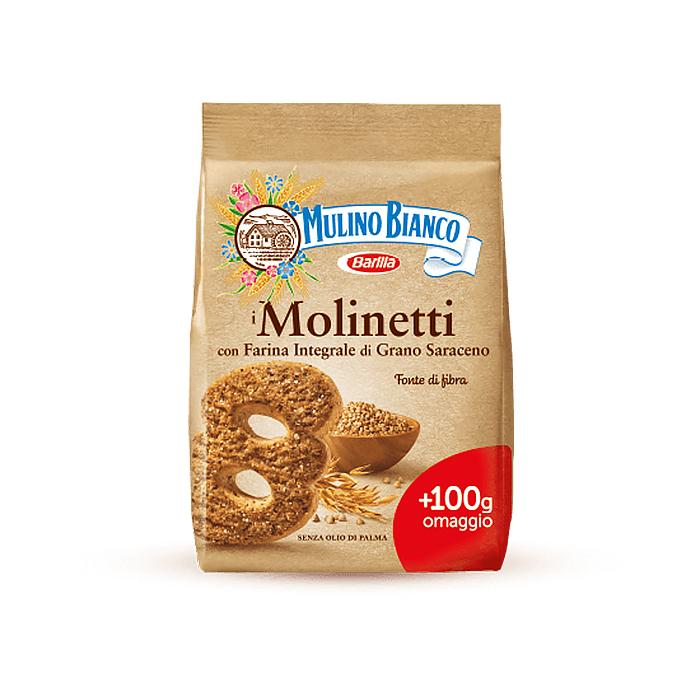 Molinetti / Vollkornkekse mit braunem Zucker 800g MULINO BIANCO