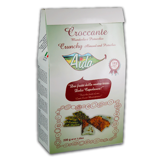 Croccante Mandorla e Pistacchio 200 g AIDA /Kekse mit Mandeln und Pistazien