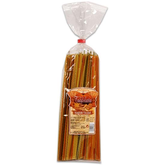 Spaghetti Tricolore / Dreifarbige Spaghetti 500 g LA TRAFILATA