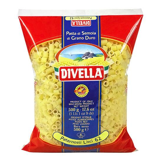 Divella 62 Paternostri Lisci / Nudeln 500 g