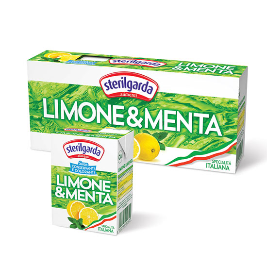 Limone e Menta Brik / Zitronentee mit Minze 3x200 ml STERILGARDA