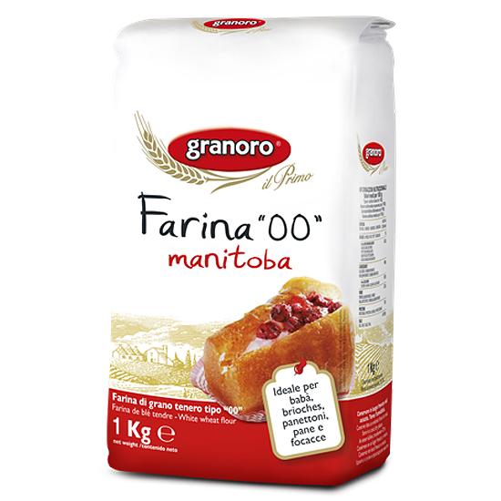 Farina 00 Manitoba 1 kg GRANORO