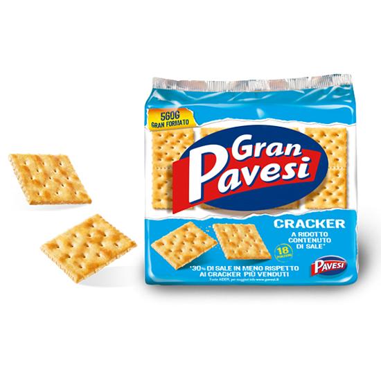 Gran Pavesi Crackers non Salati 560 g PAVESI