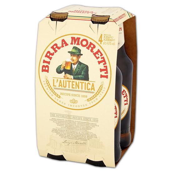 Birra Moretti 4x33cl