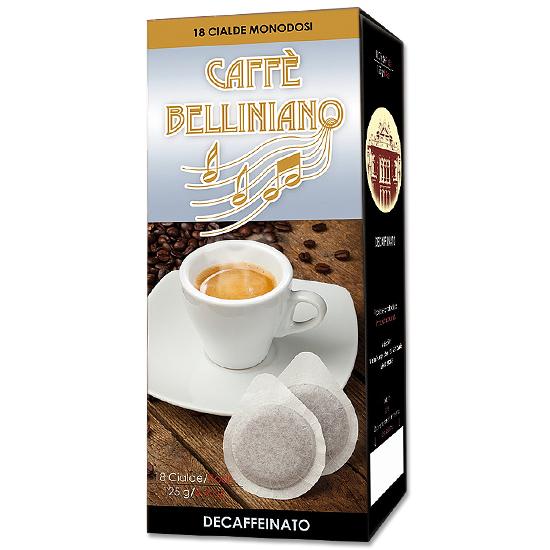 Caffé Belliniano 18 Cialde 125 g Arabicaffé