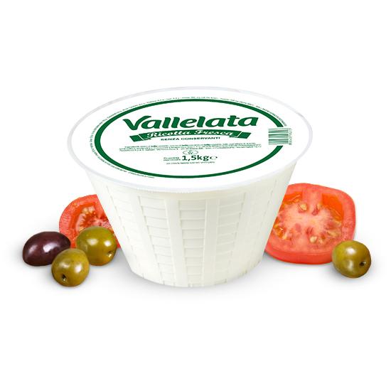 Ricotta Vallelata 1,5 kg GALBANI