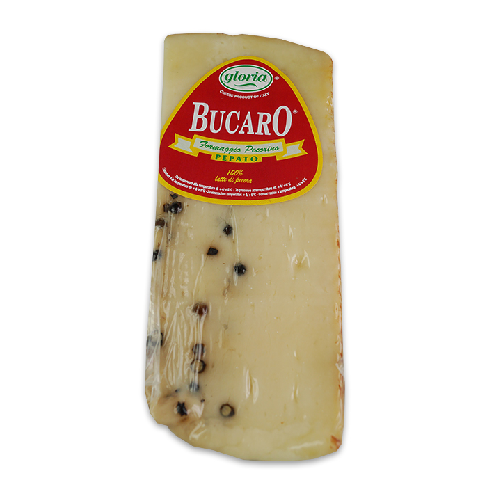 Pecorino Bucaro Pepato / Schafskäse mit Pfeffer 250g GLORIA
