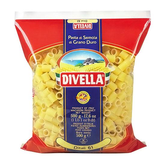Divella 61 Ditali / Nudeln 500 g