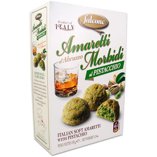 Amaretti Morbidi Pistacchio 170 g FALCONE