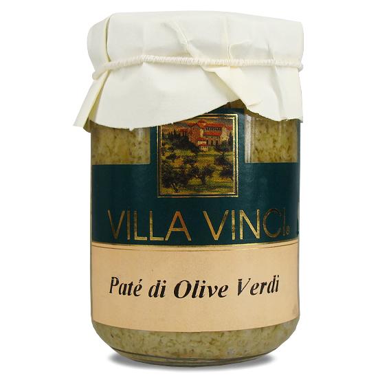Pate Olive Verdi Villa Vinci / grüne Oliven 130 g SUD ITALIA