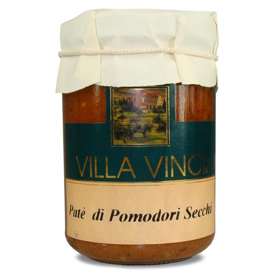Pate Pomodori Secch Villa Vinci / getrocknete Tomaten 130 g SUD ITALIA