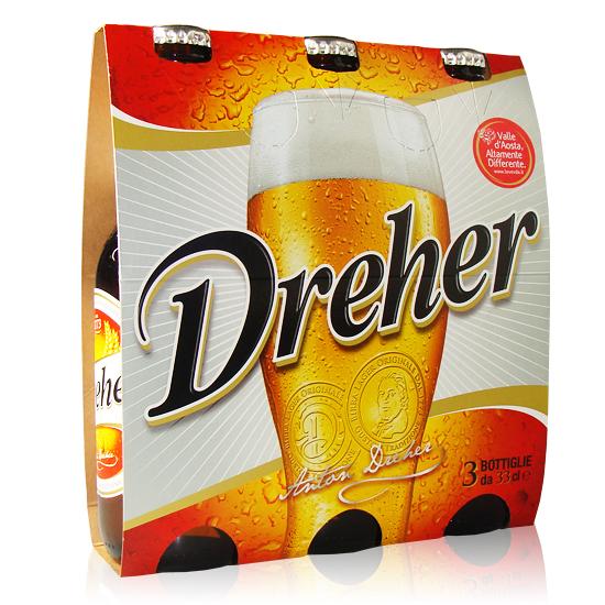 Birra Dreher 3x33cl
