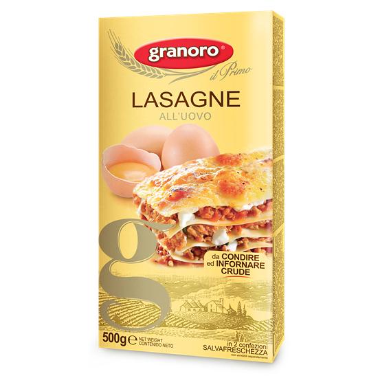 Granoro 120 Lasagne all'uovo Gialla 500 g