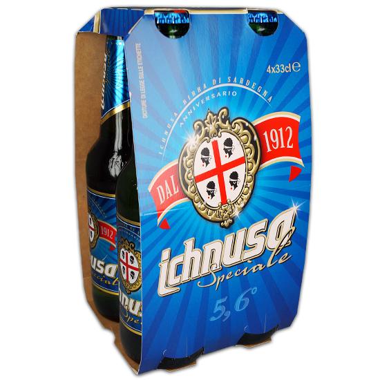 Birra Ichnusa Speciale 4 x 33cl