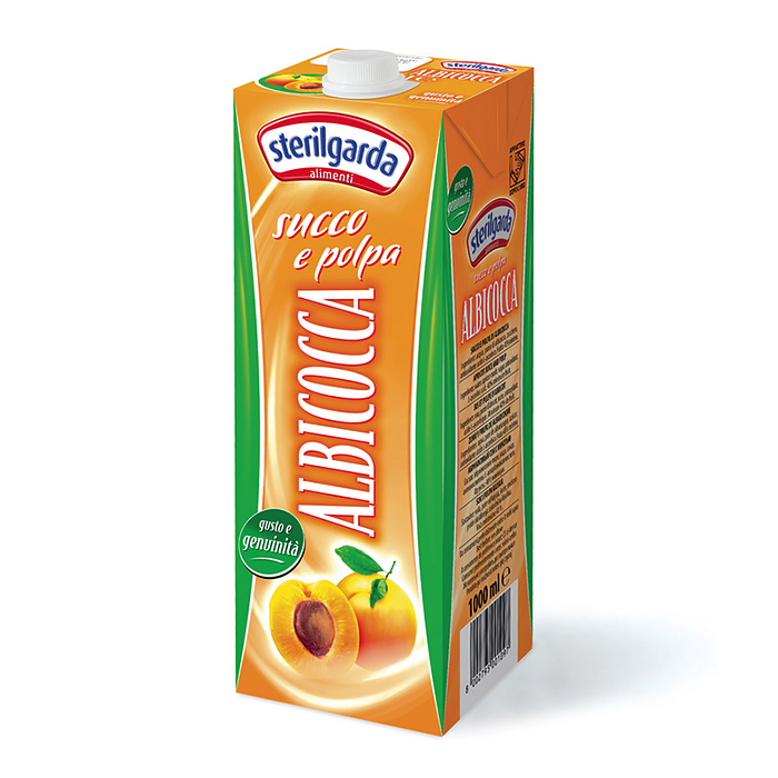 Succo e Polpa Albicocca / Aprikosensaft 1 L STERILGARDA