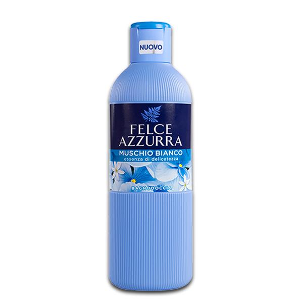 Bagno Doccia Muschio Bianco / Duschgel mit Moschus 650 ml FELCE AZZURRA