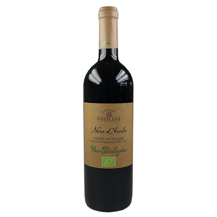 Nero d'Avola Terre Siciliane BIO 0,75 L CANTINE PAOLINI