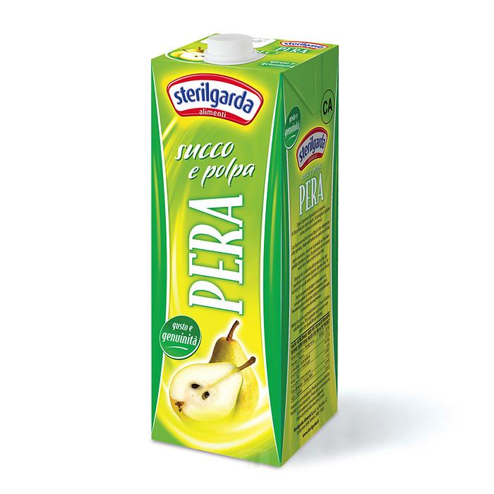 Succo e Polpa Pera / Birnensaft 1 L STERILGARDA