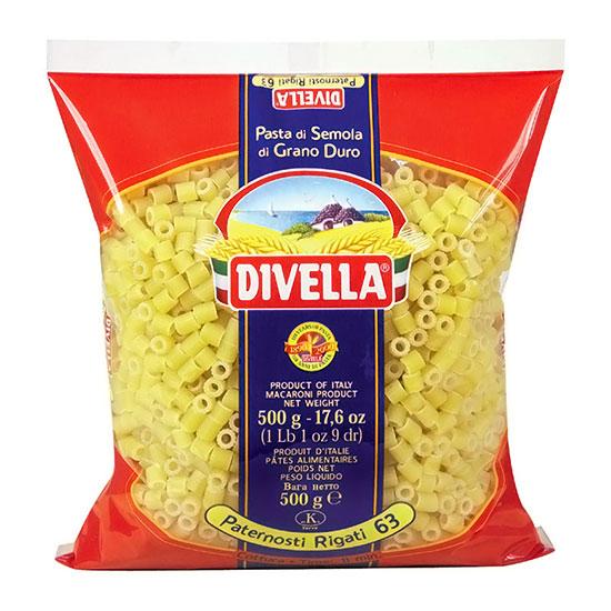 Divella 63 Paternostri Rigati / Nudeln 500 g