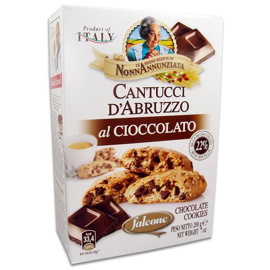 Cantuccini D´Abruzzo Cioccolato 200 g FALCONE