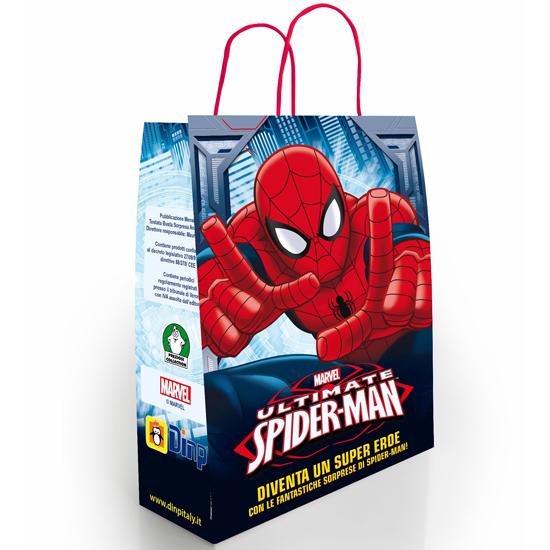 Spiderman Busta Regalo / Überraschungstüte DINP