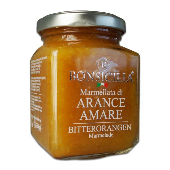 Marmellata di Arance Amare / Marmelade aus Bitterorangen 250g BONSICILIA