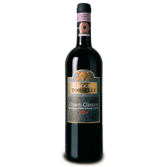 Chianti Classico Riserva 0,75 L POGGIO TORSELLI