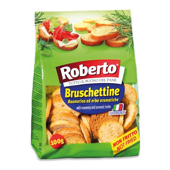 Bruschettine Rosmarino erbe aromatiche 100 g ROBERTO